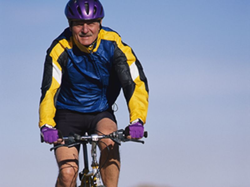 News Picture: Active Older Vets More Likely to Fall, But Less Likely to Get Hurt: Study