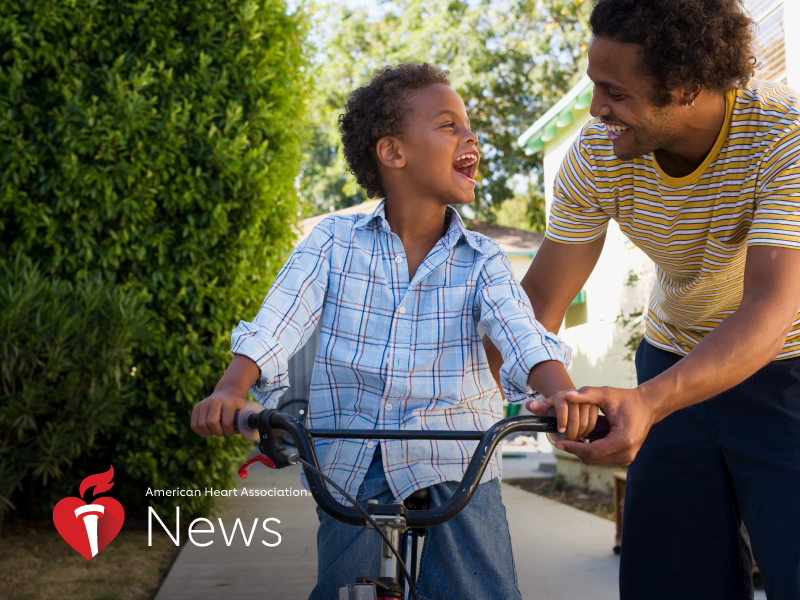 News Picture: AHA News: Instead of a Tie, Think About Healthy Gifts and Gratitude for Father's Day