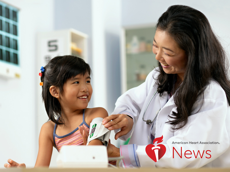 News Picture: AHA News: Is Your Child's Blood Pressure Something to Worry About?