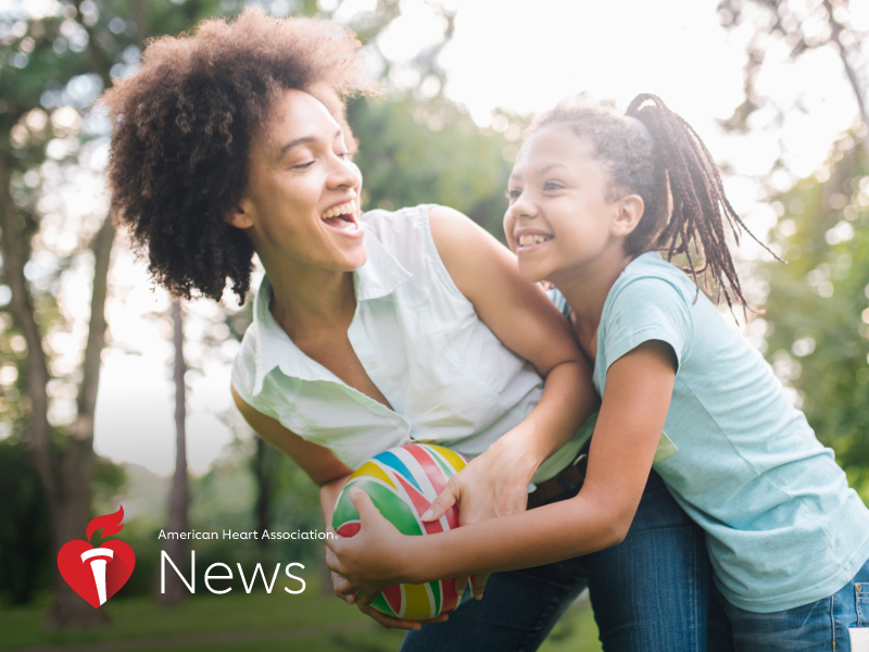 News Picture: AHA News: Make Mother's Day Last All Year With Wellness and Appreciation