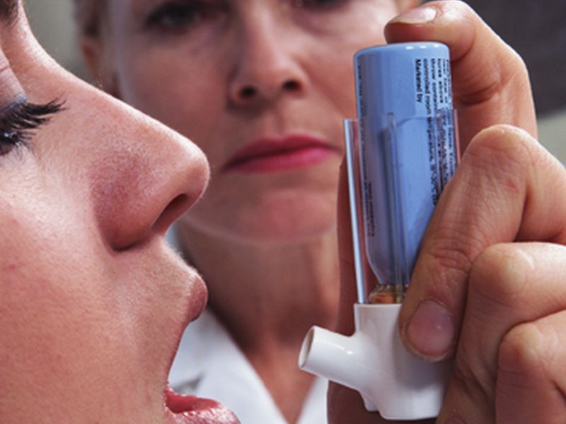 News Picture: Asthma Isn't a Risk Factor for Worsening COVID-19: Study