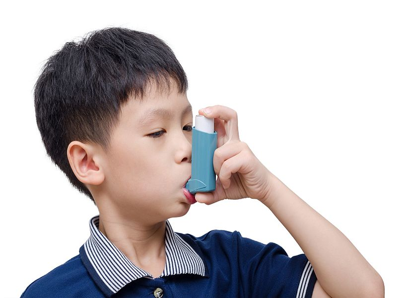News Picture: Bedroom Air Filters May Help Kids With Asthma Breathe Easier