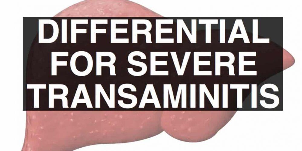Severe Transaminitis