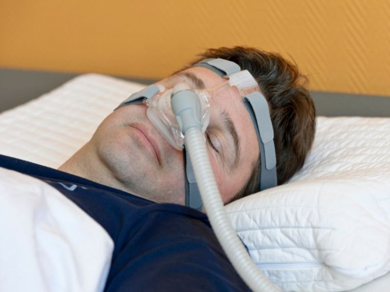 News Picture: Could Sleep Apnea Put You at Risk for Alzheimer's?