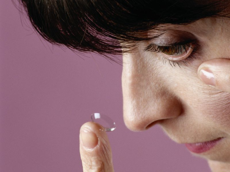 News Picture: Could Your Contact Lenses Track, Treat Your Diabetes?