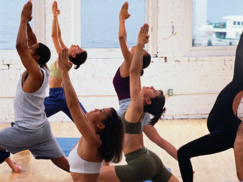 News Picture: Gentle Yoga May Deliver Migraine Relief