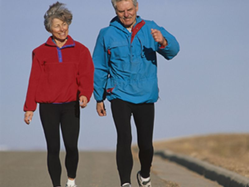 News Picture: Get Moving, Seniors: It's Good For Your Brain