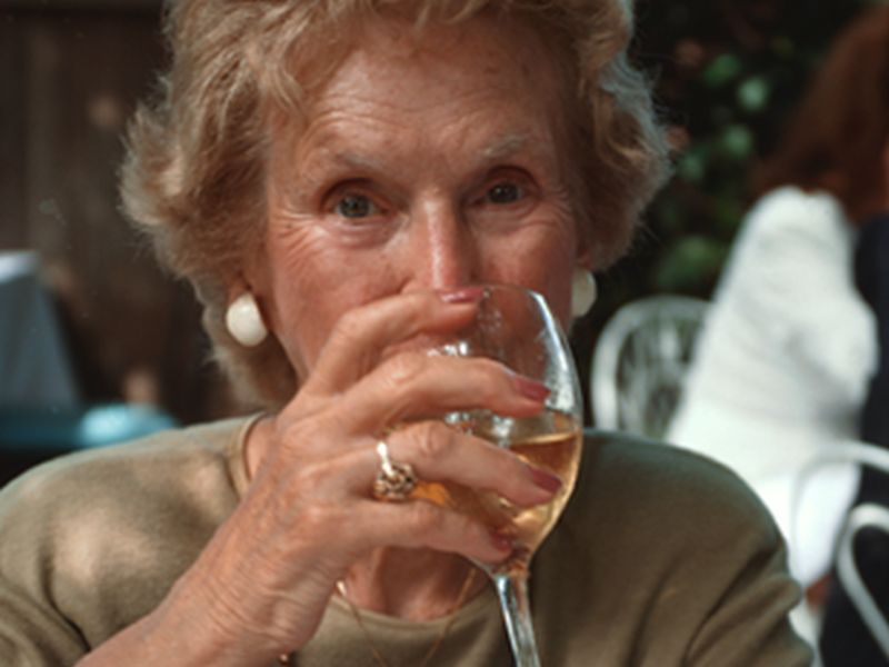 News Picture: Heavy Drinking Into Old Age Ups Health Risks: Study