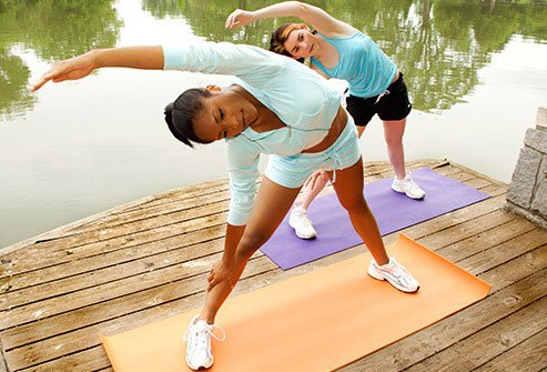 Exercise Builds Strong Muscles Around Joints
