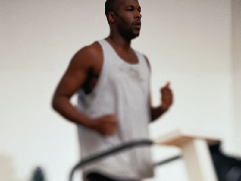 News Picture: Lasting Spikes in Blood Pressure While Exercising Could Be Unhealthy Sign