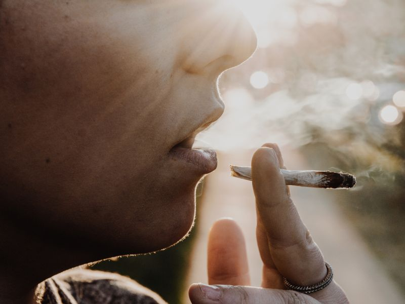 News Picture: No Evidence Marijuana Raises Stroke Risk