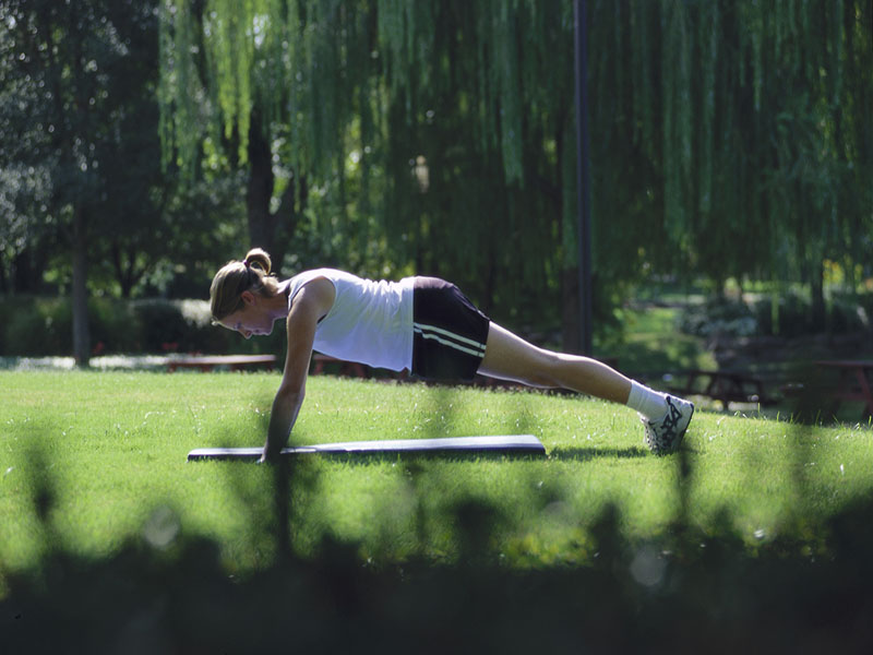 News Picture: Pilates May Be Good Medicine for High Blood Pressure