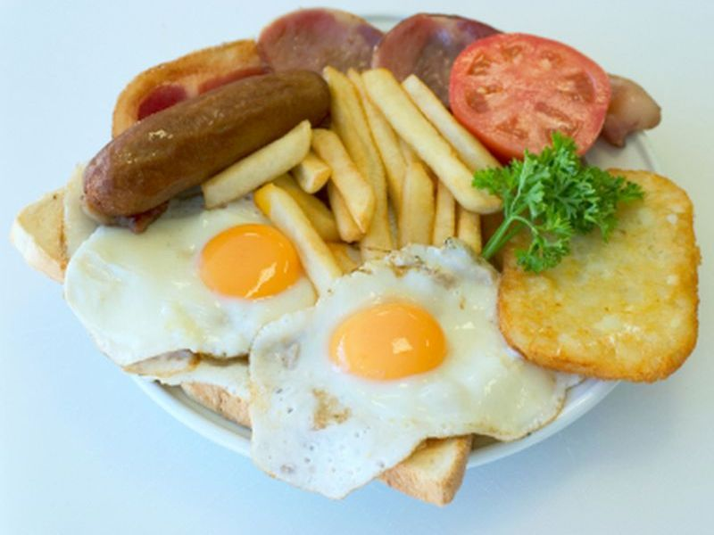News Picture: Potato & Sausages, Cold Cuts a Bad Combo for Your Brain