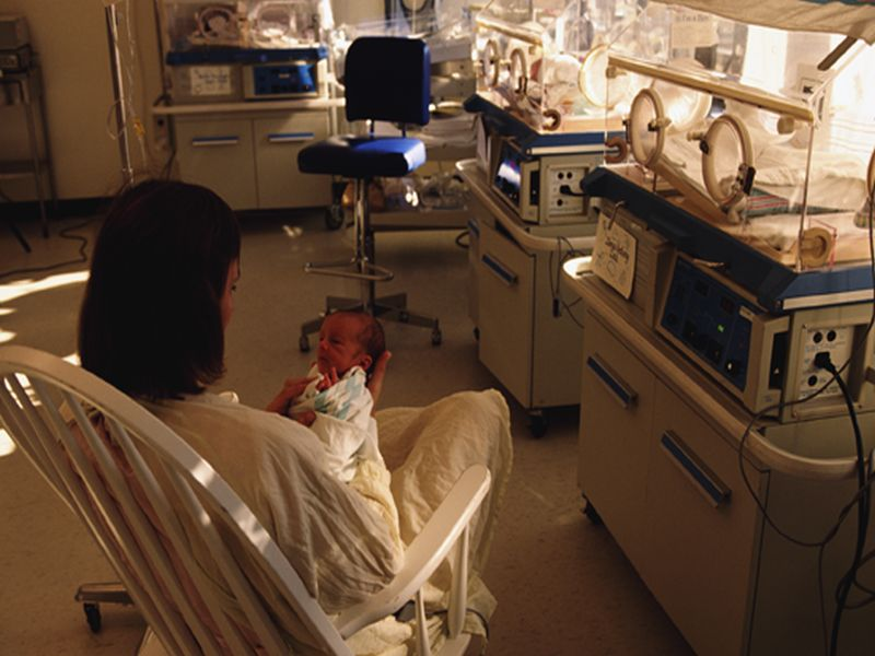News Picture: Preterm Birth Ups Mom's Long-Term Heart Disease Risk: Study
