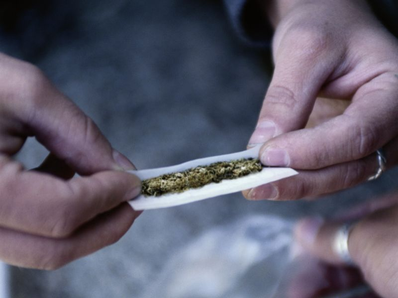 News Picture: Using Pot to Help You Sleep? It Could Backfire