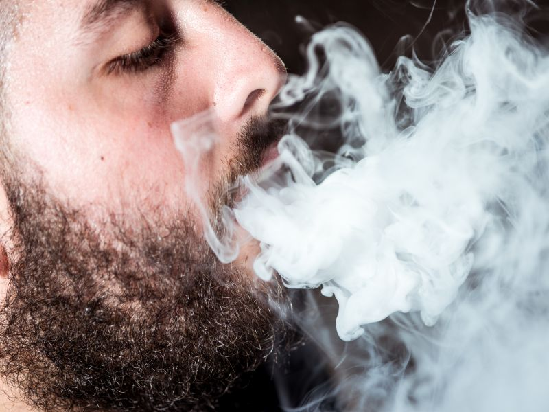 News Picture: Vaping Could Put You at Risk for Gum Disease