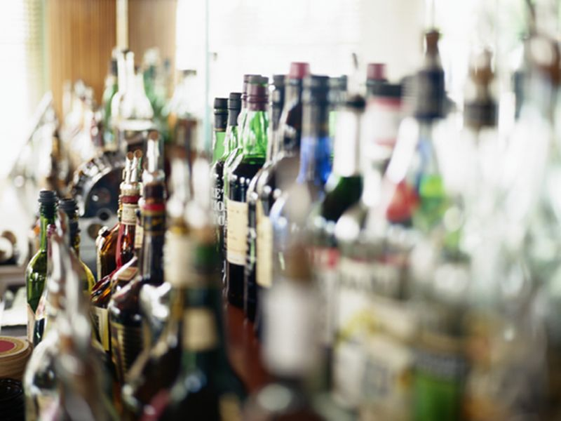 News Picture: When Booze Labels Carry Health Warnings, Drinking Declines: Study